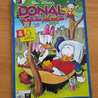 Preloved Komik Donald Bebek Buku Besar