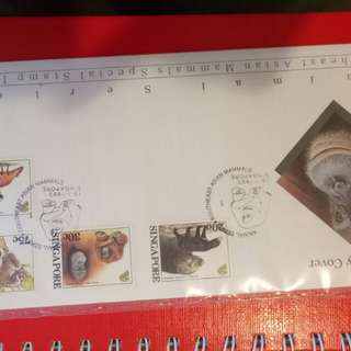 Sg first day cover