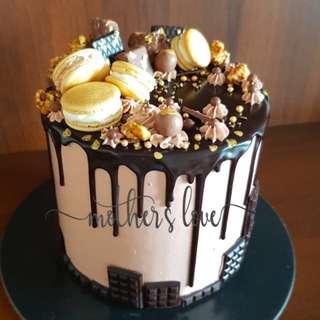 chocolate gold cake