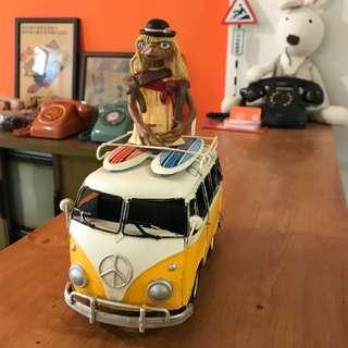 「早期鐵皮模型車」  早期 古董 復古 懷舊 稀少 有緣 大同寶寶 黑松 沙士 鐵件 40年 50年