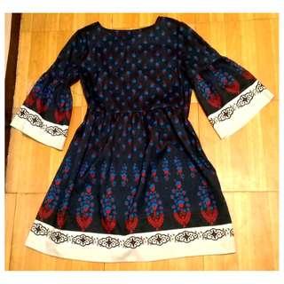 Oriental-Style Dress