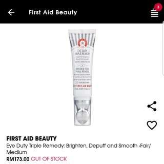 First Aid Beauty -Eye Duty [MARK DOWN RM50 NOW!]