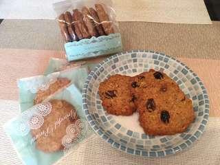 日日好時❤️黑糖燕麥水果 手工餅乾 (蔓越莓、草莓、葡萄乾)