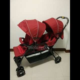 BN Tandem, Twin, Double Baby Stroller