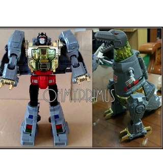 Reximus Prime - Transformers KO Oversize Masterpiece MP-8 MP8 Grimlock (Japan MP Colour)
