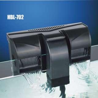 Sunsun HBL-702 Hang On Back Filter for Aquarium Fish Tank