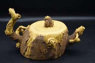 紫砂茶壺段泥製造