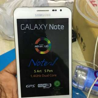 Samsung galaxy note 1 brand new orignal