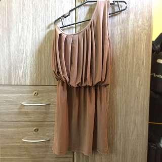 Sale!! Cocktail Dress Brown elegant