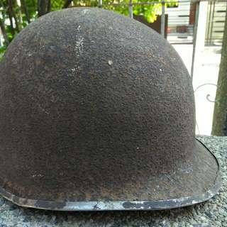 Old Antique Vintage Soldier's Helmet