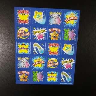 [INSTOCK] BN Stars Reward/Merit Stickers - Design 1 (Carson Dellosa)