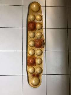 Wooden Congkak -traditional game