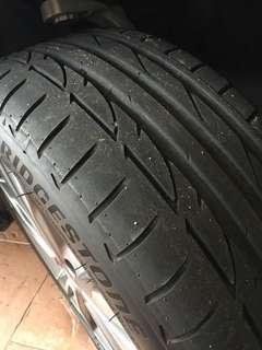 Bridgestone Potenza S001 RFT (run-flats)