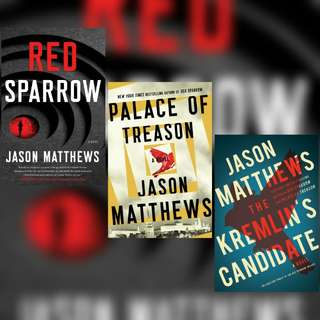 Red Sparrow Trilogy by Jason Matthews