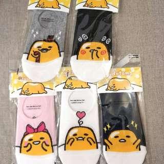 🚚 韓國襪子 正版 蛋黃哥船型襪