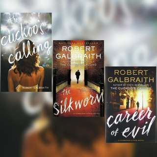 Cormoran Strike Series by Robert Galbraith (Pseudonym), J.K. Rowling