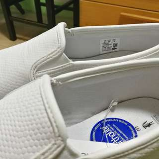 Original Lacoste Slip On Sneakers for Women
