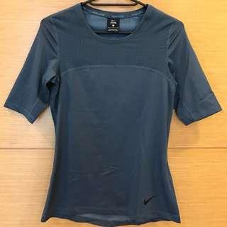 Nikepro運動顯瘦排汗衣s藏藍