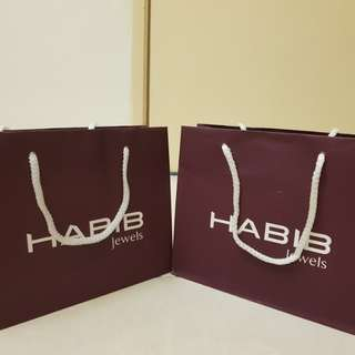Paper Bags Habib Jewel