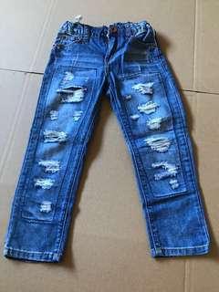 Zara Destroy Jeans