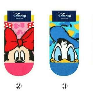 韓國襪子 正版小朋友 迪士尼短襪