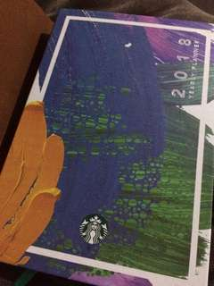 Starbucks Planner with Special Edition Kape Vinta Cards