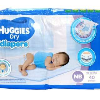 Huggies Diaper Newborn 2 packs
