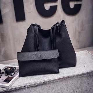 ♥️特價包郵♥️單肩包女韓版2018新款潮時尚百搭斜挎包簡約手提包子母大包包