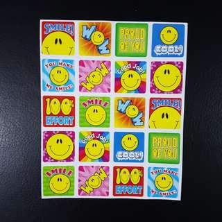 BN Smiley Faces Reward/Merit Stickers (Carson Dellosa)