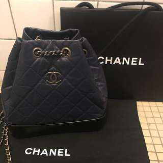 Small size chanel backpack.
