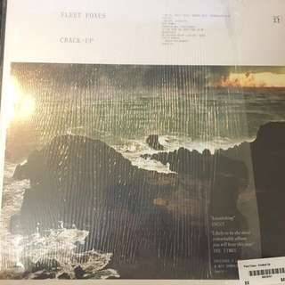 Fleet Foxes crack-up LP