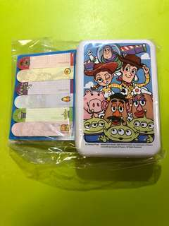 Disney Toy Story sticky note with case