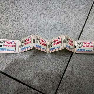 湯姆熊商品兌換券