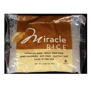 Miracle Noodle Shirataki Miracle Rice 10 Bags 8/OZ