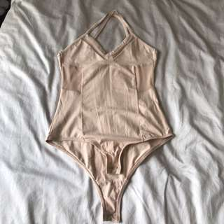Topshop Pale Pink Bodysuit