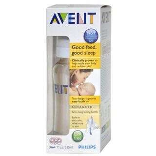🌈(Ready Stock) 🆕Brand New Sealed in Box Philips Avent Advanced Bottles 11oz/330ml PES BPA Free For 3m+