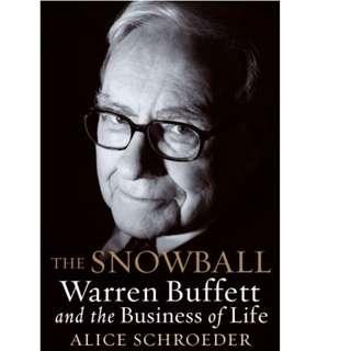 Ebook- The Snowball: Warren Buffett and the Business of Life