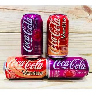 """"""" 大勝屋 だいかつ """" 美國coca cola 香草風味可樂 櫻桃風味可樂  ~ 歡迎批發 ~"""