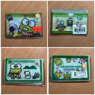 Keroppi octopus card case