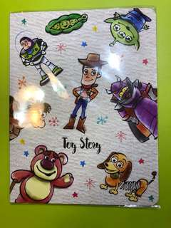 Disney Toy Story Buz Lightyear Woody sticky notepad memo
