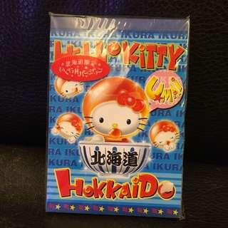 Hello Kitty 記事本 北海道限定