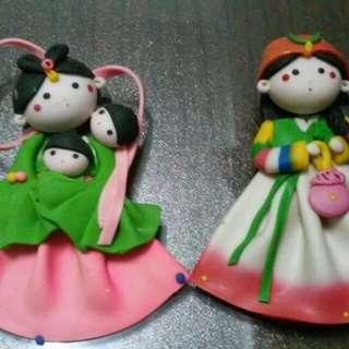 韓國磁鐵娃娃