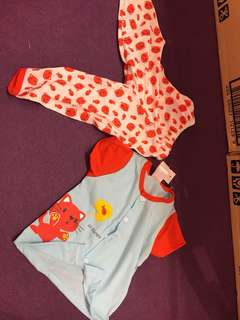 Baby short sleeve with long pant