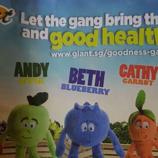 Goodness Gang *FREE* Stamp/s - To exchange for Goodness Gang Plush ( **Please read condition**)