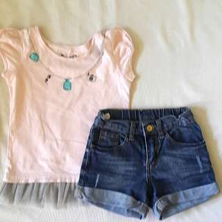 top & short bundle💕