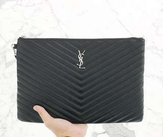 YSL YVES SAINT LAURENT CLUTCH BAG