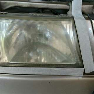Nano coating headlamp