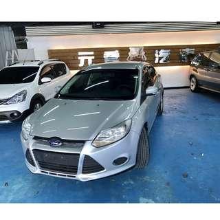 2013年 Focus 1.6 四門汽油版 25.8萬~~  非自售 一手 女用車