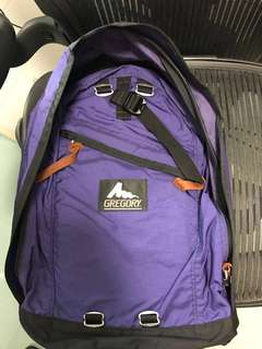 Gregory purple/black fine day Backpack Arch