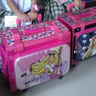 Barbie Trolley bag (box type)